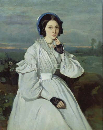 Jean-Baptiste Camille Corot: Maria-Louise (oder Claire?) Sennegon.