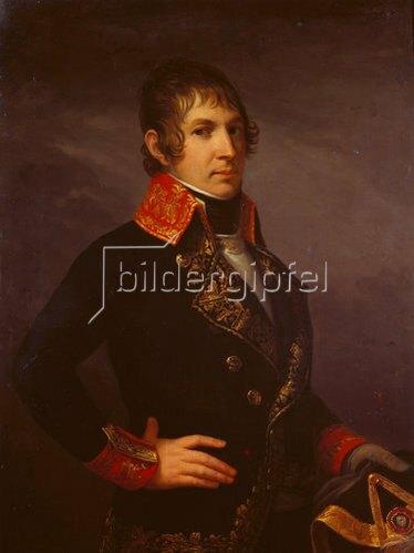 Jacques Louis David: General De la Poype, Bildnis