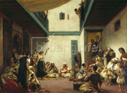 Eugene Delacroix: Jüdische Hochzeit in Marokko. Um 1841