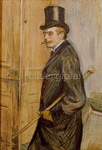 Henri de Toulouse-Lautrec: Louis Pascal im Profil. 1893