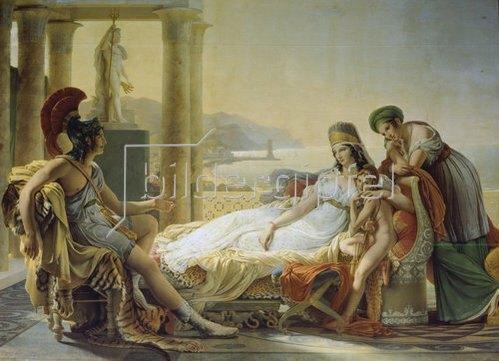Pierre Narcisse Guérin: Aeneas berichtet Dido vom Kampf um Troja. 1815