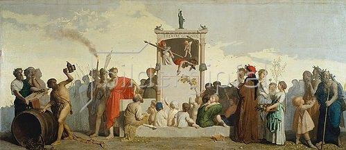 Jean-Louis Hamon: Die menschliche Komödie. 1852