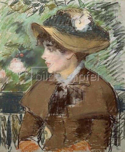 Edouard Manet: Auf der Bank. 1879.