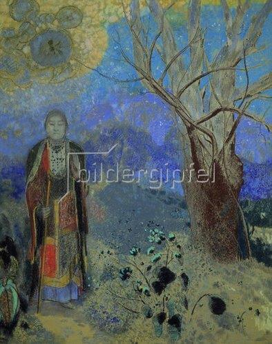 Odilon Redon: Der Buddha. Um 1905