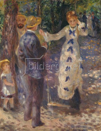 Auguste Renoir: Auf der Schaukel. 1876