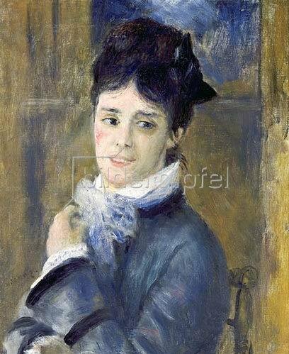 Auguste Renoir: Bildnis der Madame Claude Monet. 1872.