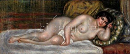 Auguste Renoir: Liegender weiblicher Akt (Gabrielle). 1903