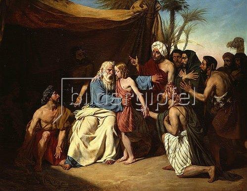 Eugene Roger: Jakob und Benjamin. 1829.