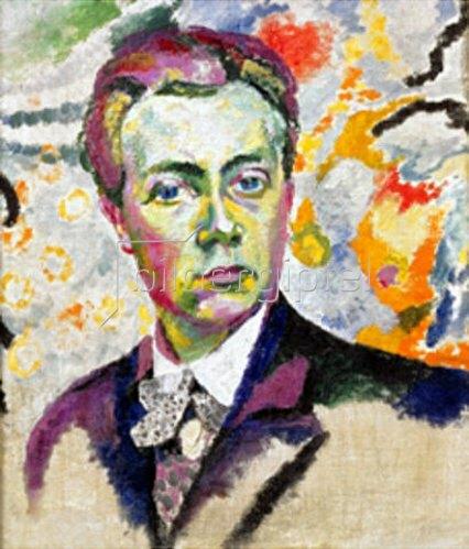 Robert Delaunay: Selbstbildnis. 1906
