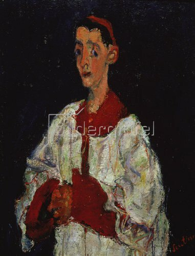 Chaim Soutine: Der Messdiener. 1928
