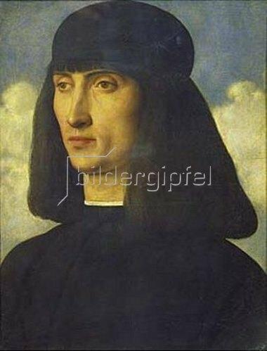 Giovanni Bellini: Bildnis eines Mannes. Um 1490