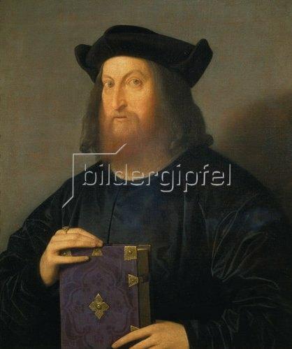Catena (Vincenzo di Biagio): Bildnis Giangiorgio Trissino. Um 1525-27