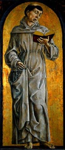 Cosimo Tura: Der hl. Antonius von Padua bei der Lektüre.