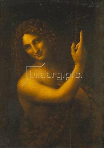 Leonardo da Vinci: Johannes der Täufer. 1513/16