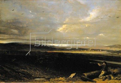 Alexandre Gabriel Decamps: Treibjagd.