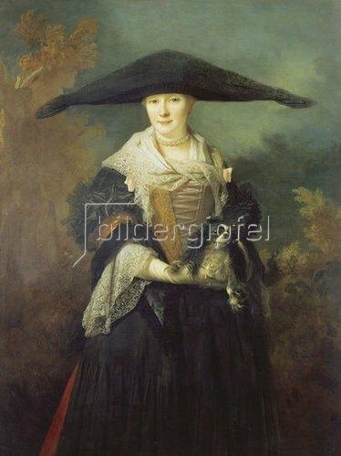 Nicolas de Largilliere: La belle Strasbourgeoise.