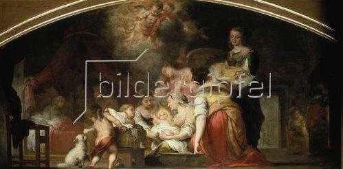 Bartolomé Estéban Murillo: Die Geburt der Maria. 1661