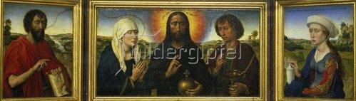 Rogier van der Weyden: Triptychon der Familie Braque. 1452-53