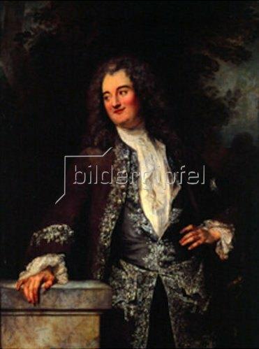 Jean Antoine Watteau: Bildnis eines eleganten Mannes. Um 1720
