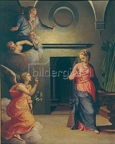 Agnolo Bronzino: Verkündigung Mariae.