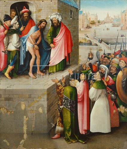 Hieronymus Bosch: Ecce Homo. Um 1480/90