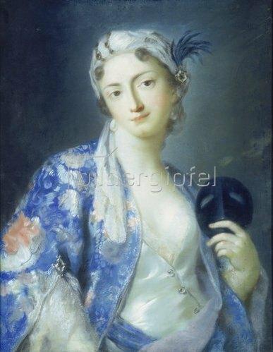 Rosalba Carriera: Felicita Sartori.