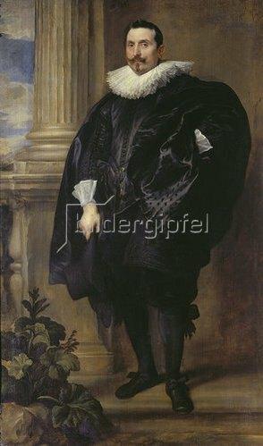 Anthonis van Dyck: Bildnis eines Mannes