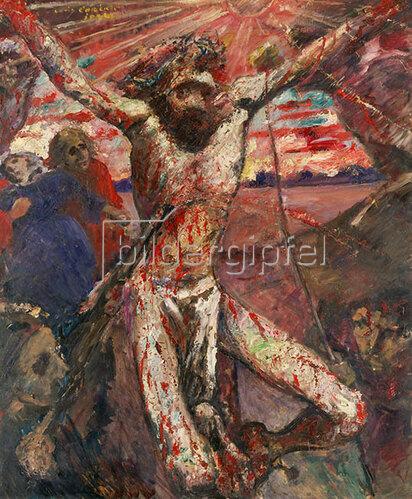 Lovis Corinth: Der rote Christus. 1922