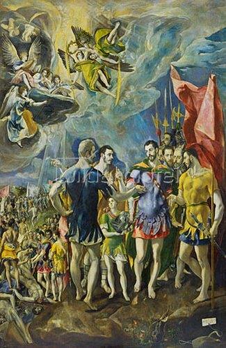 Greco El (Dom.Theotokopoulos): Der Märtyertod des hl. Mauritius und der Thebanischen Legion. 1580/84