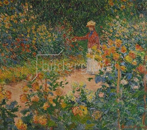 Claude Monet: Im Garten. 1895