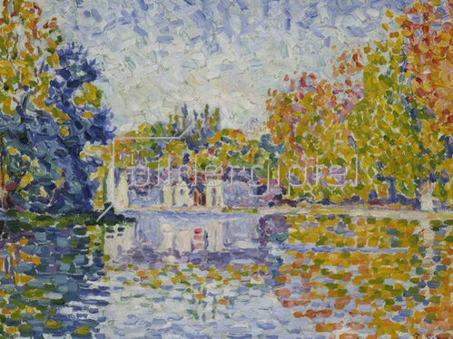 Paul Signac: Studie An der Seine. 1902(?)
