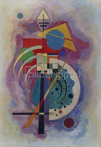 Wassily Kandinsky: Hommage à Grohmann. 1926