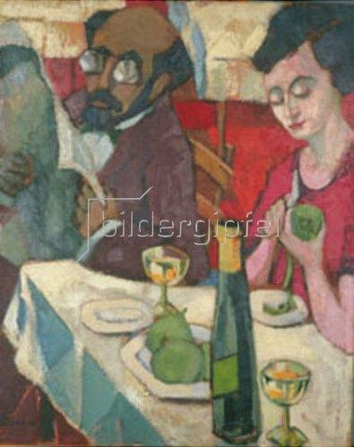 Hans Thuar: Das ungleiche Paar. 1922.