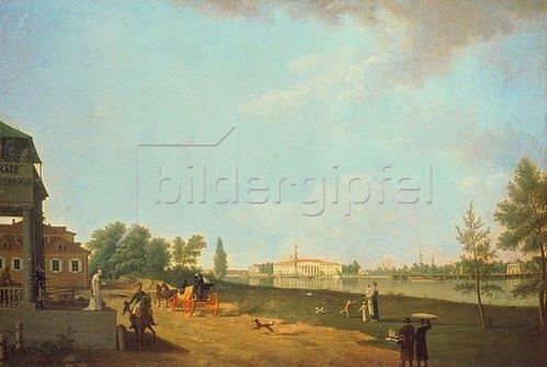 Benjamin Paterssen: Die Kamenostrowski-Insel, St.Petersburg, 1804