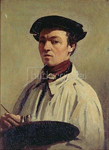 Jean-Baptiste Camille Corot: Selbstbildnis.