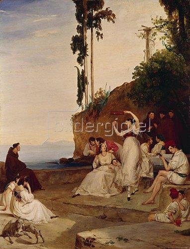 Carl Blechen: Tarantella. ca. 1830