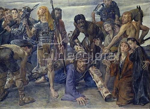 Lovis Corinth: Kreuztragung. 1909.