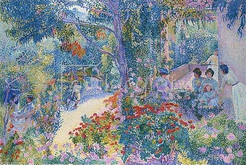 Henri Edmond Cross: Le Jardin. Um 1904/05