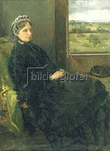Louis Eysen: Bildnis der Mutter des Künstlers. 1877
