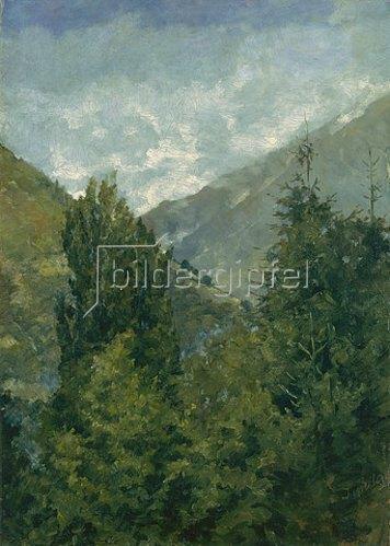 Louis Eysen: Südtiroler Landschaft. 1898