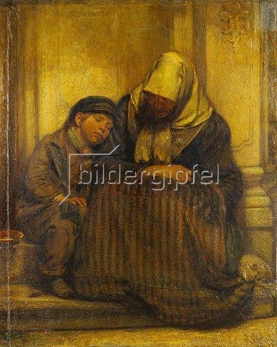 Chr. Wunibald Angilbert Göbel: Arme Leute. 1858
