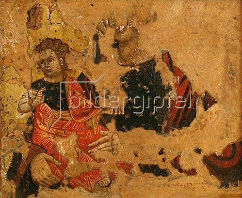 Kretischer des 16. o. 17. Jhs. Meister: Madonna mit Kind (Fragment).