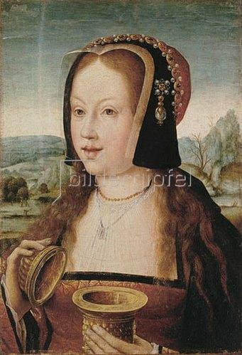 Barent van Orley: Margarete von Österreich als heilige Magdalena.