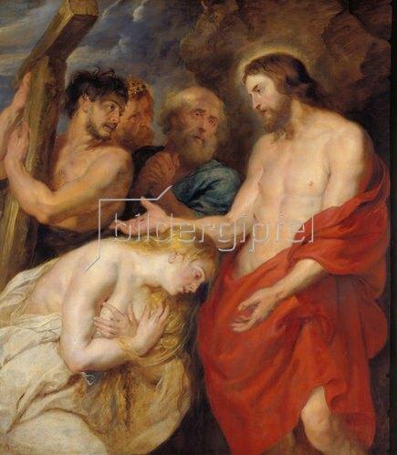 Peter Paul Rubens: Christus und die reuigen Sünder. Um 1618