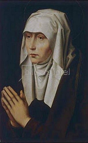 Hans Memling: Mater dolorosa. 1455/1494