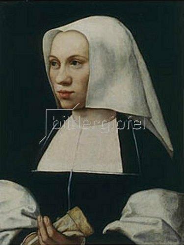 Barent van Orley: Bildnis einer unbekannten Frau. 1521/25.