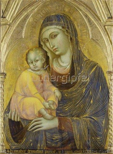 Barnaba da Modena: Madonna mit Kind. 1367