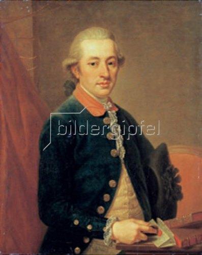 Johann Wilhelm Hofnaas: Bildnis Carl Justinian von Holzhausen.