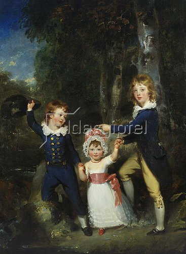 Sir Thomas Lawrence: Die drei Kinder des Lord Cavendish.