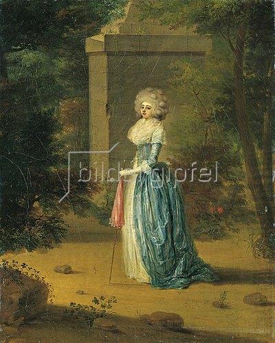 Georg Karl Urlaub: Henriette von Holzhausen, Bildnis